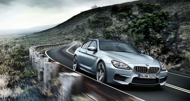 BMW's M6 Gran Coupe'
